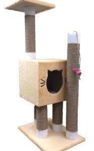 Комплекс (домик, когтеточка, гамак) для кошек
