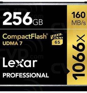 Карта памяти Lexar Professional CompactFlash 1066x