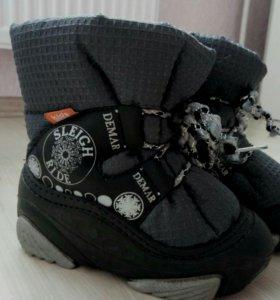 Зимние ботинки. Демары