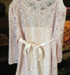 Шикарное платье для беременных