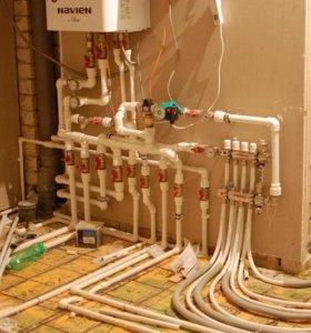 Замена и установка отопления