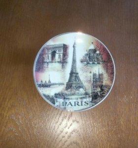 Тарелка декоративная Париж