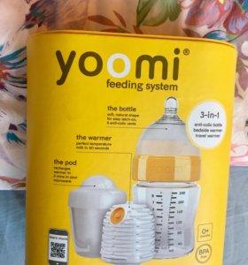 Yoomi бутылочка с нагревателем