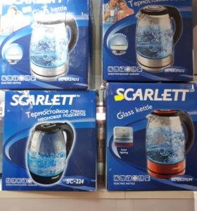 Чайники scarlett