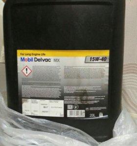 Продам дизельное масло, 15w40. Мобил. Новое.