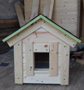 домик утепленный для кота