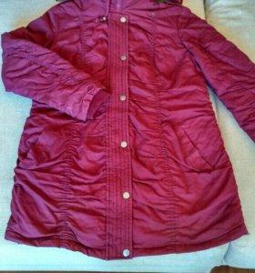 Стильная куртка-парка для беременных
