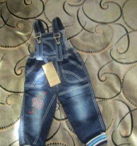 Новые джинсы (9-12мес)