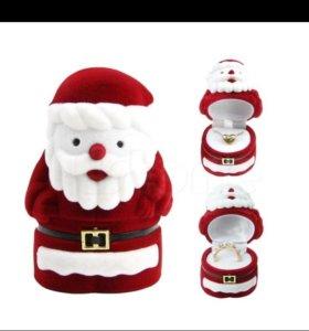 Коробочка для украшений(новая).Дед мороз.Новый год