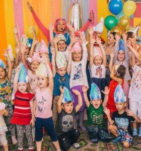 День рождения в детской игровой комнате