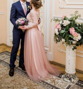 Платье (свадебное/вечернее)