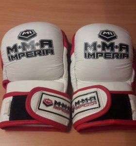 Кожанные перчатки MMA s