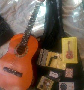 Отличная Гитара И Куча Аксессуаров