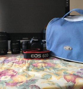 фотоаппарат Canon 60 D за ВСЕ