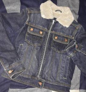 Джинсовая куртка(осень-весна)