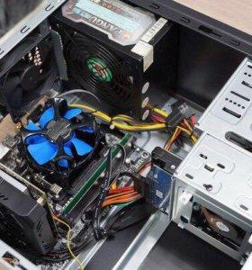 Компактный игровой системник: 4 ядра/Видео 4Гб