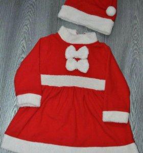 Новогодний костюм платье р. 92
