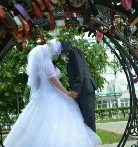 Свадебное платье от 44 до 50