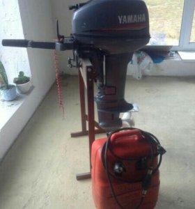 Продается лодочный мотор yamaha 15 интересен обмен