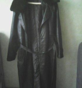 Пальто кож муж