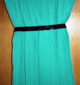 Платье плиссе .