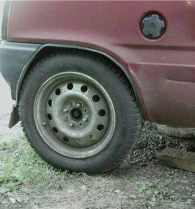 Комплект колес на Оку