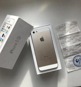 IPhone 5s, 16GB Gold