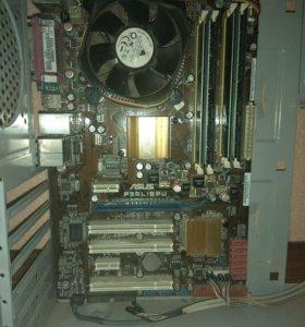 Xeon E5450 + Asus P5QL/EPU + 8Gb