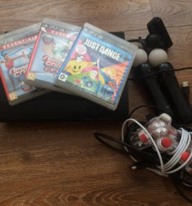 PlayStation 3 super slim (куча игр) 500гб