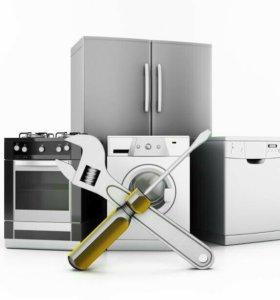 Холодильник, стиральная машина микроволновая печь