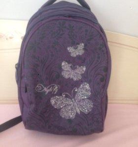 Рюкзак школьный для девочки!