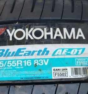 Yokohama Blu Earth AE01 185/55 R16 83V