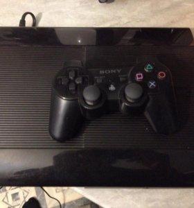 PS3 250gb с играми