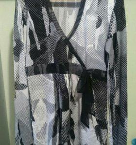 Блузка для беременных р.42+ брюки