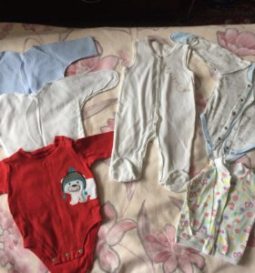 Пакет вещей на мальчика 3 месяца