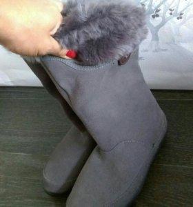 Новые сапоги adidas холодная осень/зима