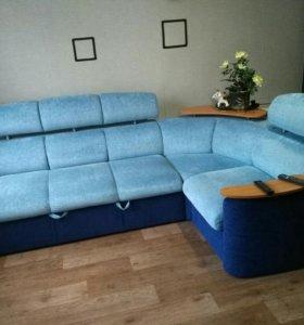 Угловой диван со сменным углом