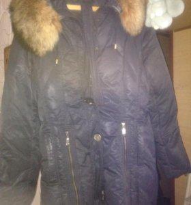 Пальто дутое ,очень тёплое !!