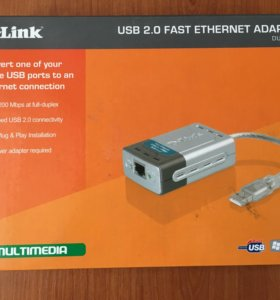 D-link DUB-E 100 сетевой адаптер для интернета