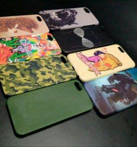 Печать на чехлах для iPhone.