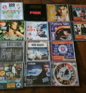 Музыкальные MP3 диски
