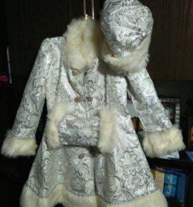 Новогодний костюм снегурочка