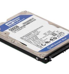 Western Digital Scorpio Blue 500 GB (WD5000BEVT)