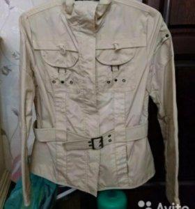 Куртка, ветровка, бу, размер 48