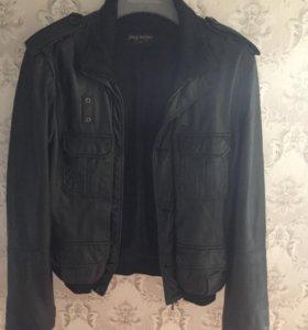 Куртка кожаная мужская 48размер