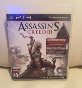 Assasin creed 3 PS3