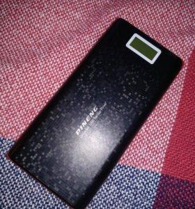 Портативное зарядное устройство pineng 20 000 mAh