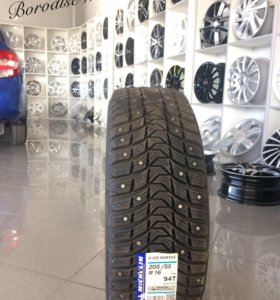 Резина michelin x-ice nord xin3 205/55 r16