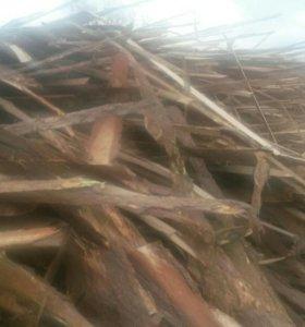 Горбыль, срезка на дрова