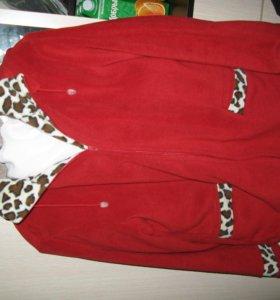 Куртка кофта флисовая
